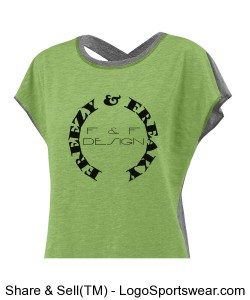 Ladies Sensation Tee Design Zoom
